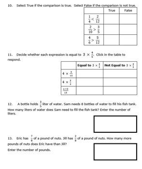 4th Grade End of Module 5 Assessment - Editable