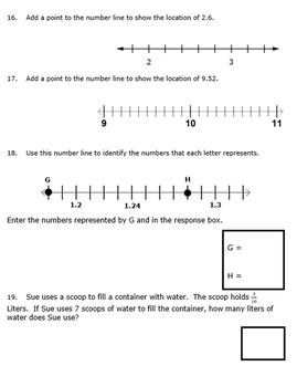 4th Grade End of Module 6 Assessment - EDITABLE