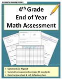 4th Grade End of Year Math Assessment