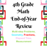 4th Grade End of Year Math Review