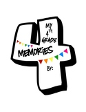 4th Grade End of Year Memories Booklet