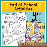 4th Grade End of Year Memory Book - End of Year Activities