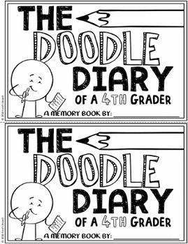 4th Grade End of Year Memory Book | The Doodle Diary of a 4th Grader