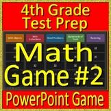 4th Grade Test Prep Math Game Operations Algebraic Thinking CAASPP, Parcc SBAC