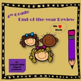 4th Grade Math End-of-year Review (STAAR/TEKS-aligned)
