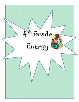 4th Grade Energy Unit Plan