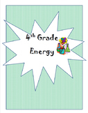 4th Grade Energy Unit Plan