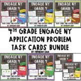 4th Grade Engage NY Application Problem Task Card Bundle (Modules 1-7)