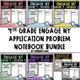 4th Grade Engage NY Application Problem Workbook Bundle (Modules 1 - 7)