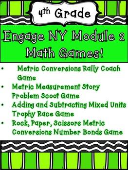4th Grade Engage NY Eureka Math Module 2 Math Centers Games Intervention