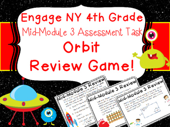 4th Grade Engage NY Eureka Mid Module 3 Multiplication Review Orbit Game Centers