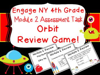 4th Grade Engage NY Eureka Module 2 Metric Measurement Review Orbit Center Game