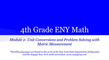 4th Grade Engage NY Math Module 2 (Bundle) Topics A - B, Lessons 1-5