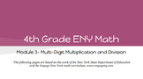 4th Grade Engage NY Math Module 3 Topic C- Lessons 7 - 11 (Bundle)