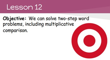4th Grade Engage NY Math Module 3 Topic D- Lessons 12-13 (Bundle)