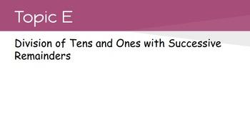 4th Grade Engage NY Math Module 3 Topic E- Lessons 14 - 21 (Bundle)