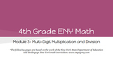 4th Grade Engage NY Math Module 3 Topic H- Lessons 34 - 38 (Bundle)