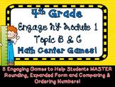 4th Grade Engage NY Eureka Math Module 1 Math Games Topic B C Intervention