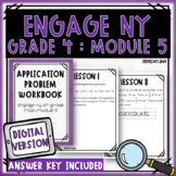 4th Grade Engage NY Module 5 Application Problem Workbook