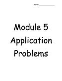 4th Grade Engage NY Module 5 Application Problems