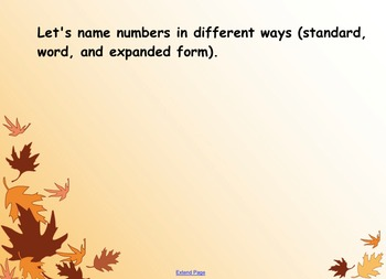 4th Grade EngageNY Module 1 Lesson 4 Place Value Expanded Form