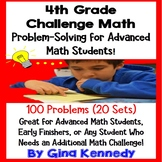 4th Grade Problem Solving for Advanced Math Learners, 20 Weeks of Enrichment!