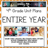 4th Grade Entire Year Math Lesson Plans Texas Edition