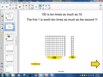 4th Grade enVision Math - Topic 1 Lesson 3A (from CCSS)TN Edition
