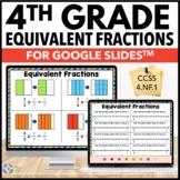 4th Grade Equivalent Fractions {4.NF.1} Google Classroom