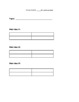 4th Grade Essay Assessment Made Easy