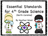 4th Grade Essential Science Standards