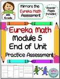 4th Grade Eureka Math End of Module 5 Practice Assessment - Fractions