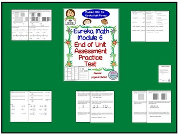 4th Grade Eureka Math End of Module 6 Practice Assessment Test