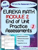 4th Grade Eureka Math End of Module 2 Assessment Practice