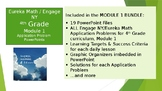4th Grade Eureka Math / Engage NY Application Problems: Module 1