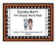 4th Grade Eureka Math EngageNY Word Wall: Module 3