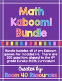 4th Grade Eureka Math Kaboom Bundle