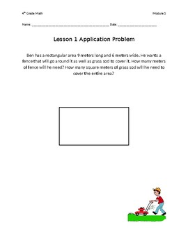 4th Grade Eureka Math Module 1 Application Problems