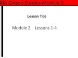 4th Grade Eureka Math Module 2 Lessons 1-4 (Metric Unit Conversions) Bundle