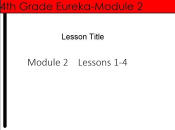 4th Grade Eureka Math Module 2 Lessons 1-4 (Metric Unit Conversions) Bundle