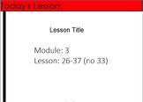 4th Grade Eureka Math Module 3 Lessons 26-37 (except 33)-