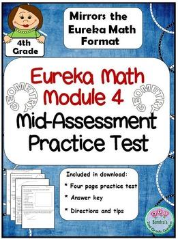 4th Grade Eureka Math Module 4 Mid-Assessment Practice Test