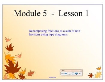 4th Grade Eureka Math Module 5 Lessons 1-10