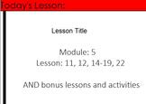 4th Grade Eureka Math Module 5 Lessons 11, 12, 14-19, 22 A