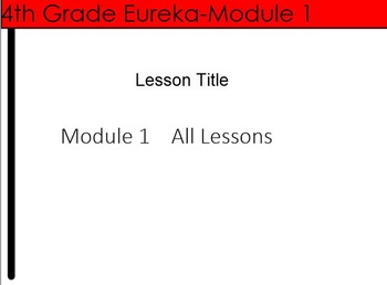 4th Grade Eureka Module 1 Unit Preview--Place value, addition and subtraction