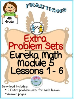4th Grade Eureka math Module 5 Topic A Lessons 1 - 6 Extra