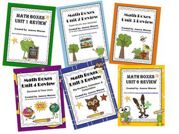 4th Grade Everyday Math Semester Review ~ Units 1 - 6