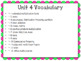 4th Grade Everyday Math Unit 4 Vocabulary Posters & Flash Cards