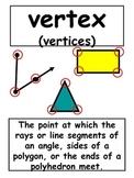 4th Grade Everyday Math Vocabulary Printables