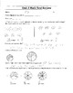 4th Grade Everyday Mathematics / EDM (4) / Math Unit 3 Test Review and Key